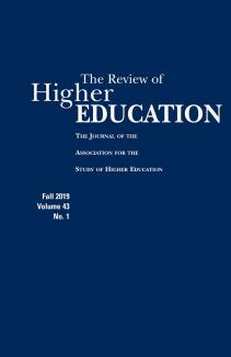 Research in Higher Education cover
